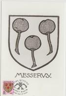 Jersey Carte Maximum 1981 Blasons 261 - Jersey