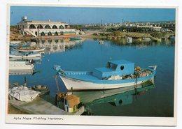 Chypre --  AYLA NAPA --1987--Le Port De Pêche (beaux Bateaux--cachet--Beaux Timbres - Chypre