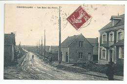 CROISILLES (62) La Rue Du Pont - Croisilles