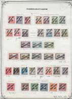 TCHECOSLOVAQUIE - SUPERBE COLLECTION Sur 65 FA - */OB - LES SERIES SURCHARGEES SIGNEES MIERTL (EXPERT) - TRES FORTE COTE - Tschechoslowakei/CSSR