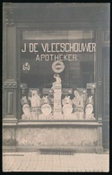 STEKENE OF OMGEVING ???  APOTHEKER  J.DE VLEESCHOUWER  - FOTOKAART - Stekene