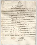 GENERALITE DE BORDEAUX , 1778 , OBLIGATION - Manuscripten
