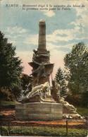 NAMUR - Monument érigé à La Mémoire Des Héros De La Province Morts Pour La Patrie - Oblitération De 1928 - Namur