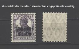 Ober-Ost 7a,xx,gep. - Besetzungen 1914-18