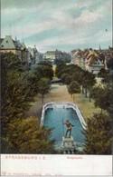 Strassburg 1914; Broglieplatz - Voyagé. (Dr. Trenkler Co., Leipzig) - Strasbourg