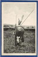 CPA Ethiopie Ethiopia Abyssinie Ethnic Afrique Noire Type Non Circulé Guerrier De Kaffa - Etiopia