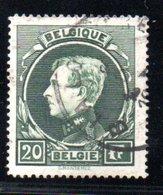 Belgique /  N 290 / 20 Francs Vert / Oblitéré - Usados