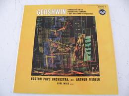 Gershwin, Boston Pops Orchestra - Direction Arthur Fiedler -  (Titres Sur Photos) - Vinyle Album 33T - Klassik
