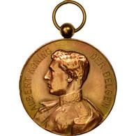 Belgique, Médaille, Albert, Roi Des Belges, Seveneeken, 1926, TTB+, Cuivre - Autres