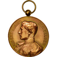 Belgique, Médaille, Albert, Roi Des Belges, Seveneeken, 1926, TTB+, Cuivre - Belgique