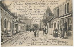 Sennely Rue Principale  G. Chollet Edit Lampadaire à Petrole - France