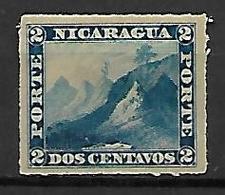 NICARAGUA    -    1869  .  Y&T N° 9 * - Nicaragua