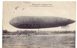 PK - Zeppelin - Manoeuvres D'armée - Le Dirigéable  Adjudant Vincenot 1913 - Dirigeables