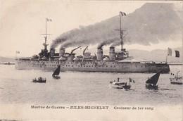 Marine De Guerre - Jules Michelet - Croiseur 1er Rang - Guerra