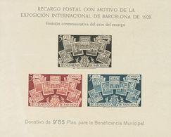 (*)NE31s. 1945. Hoja Bloque NO EMITIDA. SIN DENTAR. MAGNIFICA. Edifil 2018: 150 Euros - Espagne