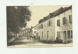 64 - SAULT DE NAVAILLES - Rue Marcadieu Animée Bon état - France