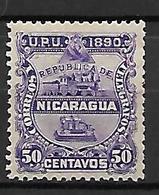 NICARAGUA    -    1890  .  Y&T N° 25 * - Nicaragua