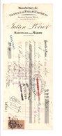 TRAITE JULIEN POIROT CHAPEAUX DE PAILLES EXOTIQUES à BAINVILLE SUR MADON MEURTHE ET MOSELLE - 1900 – 1949