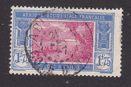 Ivory Coast, Scott #74, Used, River Scene, Issued 1913 - Ivory Coast (1892-1944)