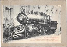 ETATS UNIS -  LES LOCOMOTIVES - Locomotive à 4 Roues Accouplées - DELC1 - - Etats-Unis
