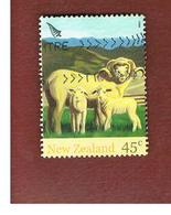 NUOVA ZELANDA (NEW ZEALAND) - SG 2757 -  2005   FARM ANIMALS: SHEEP -  USED° - Nuova Zelanda