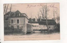 Verberie Le Moulin A Planche Sur La Riviere D Automne - Verberie