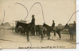 CARTE PHOTO. CPA. Les Adieux Du General POURADIER DUTEIL A La 14 Eme Dividion 22 VII 13 BELFORT - Photographs