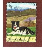 NUOVA ZELANDA (NEW ZEALAND) - SG 2758 -  2005   FARM ANIMALS: AUSTRALIAN SHEPHERD -  USED° - Nuova Zelanda