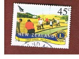 NUOVA ZELANDA (NEW ZEALAND) - SG 2765 -  2005   50^ ANNIV. LIONS -  USED° - New Zealand