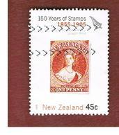 NUOVA ZELANDA (NEW ZEALAND) - SG 2771 -  2005   150^ ANNIV. STAMPS: QUEEN VICTORIA 1855 -  USED° - New Zealand
