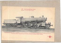 ITALIE - LES LOCOMOTIVES - Chemins De Fer De L'Etat Italien - Locomotive Coupound à 4 Cylindres  - DELC1 - - Autres