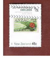 NUOVA ZELANDA (NEW ZEALAND) - SG 2791   -  2005   150^ ANNIV. STAMPS:   GALLIPOLI 1965   -  USED° - New Zealand