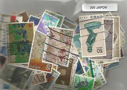 Lot 300 Timbres Du Japon - Japon