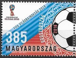 2018 Ungarn Mi. 5973 **MNH Fußball-Weltmeisterschaft, Russland. - Hungría