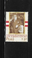 Peru 2000 Luis Alberto Sanchez Politician MNH - Peru