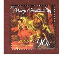NUOVA ZELANDA (NEW ZEALAND) - SG 2821   -  2005  CHRISTMAS: MARY & JOSEPH                         -  USED° - New Zealand