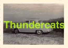 ANCIENNE PHOTO BOURBONNE LES BAINS 1959 VINTAGE SNAPSHOT 11,5 CM X 8,5 CM AUTO AUTOMOBILE VOITURE CAR - Lieux