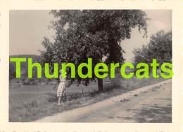 ANCIENNE PHOTO BOURBONNE LES BAINS 1959 VINTAGE SNAPSHOT 11,5 CM X 8,5 CM - Lieux