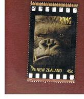 NUOVA ZELANDA (NEW ZEALAND) - SG 2827   -  2005  CINEMA: KING KONG                        -  USED° - New Zealand