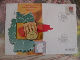Télécartes Neuf FDC > Régionales Et Armoiries - Hambourg - 10.9.1992 FDC 1er Jour - Germany