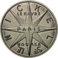France, Médaille, Nouvelle Calédonie, Société Le Nickel, 1961, Simon, SPL+ - France