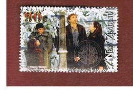 NUOVA ZELANDA (NEW ZEALAND) - SG 2835 -  2005  CINEMA: CHRONICLES OF NARNIA (LUCY, EDMUND, PETER  & SUSAN)  -  USED° - New Zealand