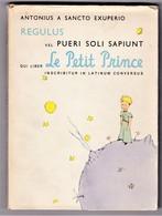 RARE  Le Petit Prince  En Latin  D'Antonius A Sancto Exuperio  Edition Originale En Langue Latine - Books, Magazines, Comics