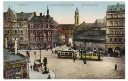 Chemnitz SAXONY TRAMWAY 1910 - Tramways