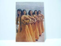 The Ensemble Of Folk Dance Of Georgia 1973 Artists. Dance. Girl. Georgian Costume 2 - Georgia