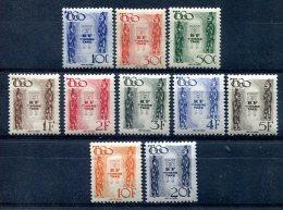 Togo                  Taxes  38/47  ** - Togo (1914-1960)
