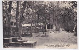 92 - Bois De Meudon-Clamart - Fontaine Ste Marie - Clamart