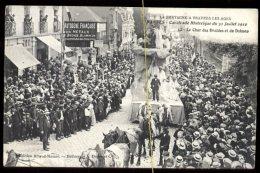 Nantes: Cavalcade Historique Du 31 Juillet 1910: Le Char Des Druides Et Du Dolmen - Nantes