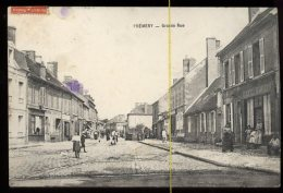 Prémery: Grande Rue - France