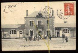Guérigny: La Mairie Et L'école - Guerigny